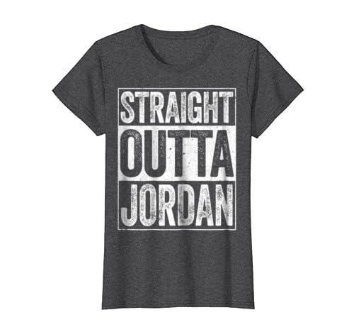 109e7c782cfb Amazon.com  Straight Outta Jordan T-Shirt Hashemite Kingdom of Jordan   Clothing
