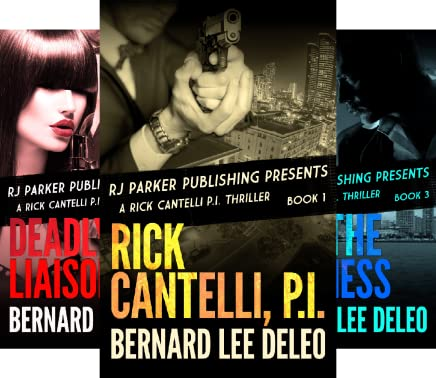 Rick Cantelli, P I  Detectives (9 Book Series)