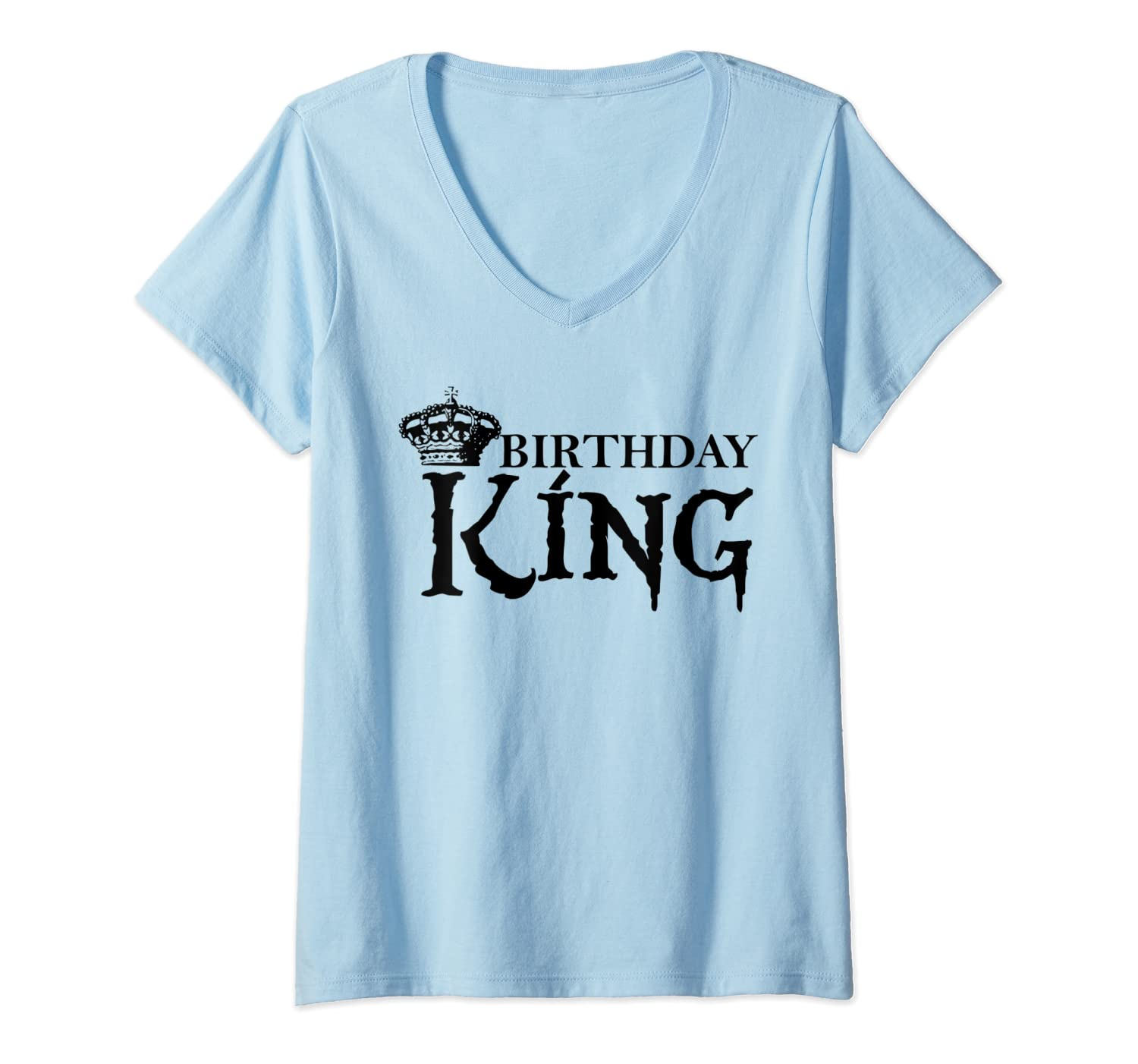 Birthday King Cute Present Party Theme Out Idea For Shirts