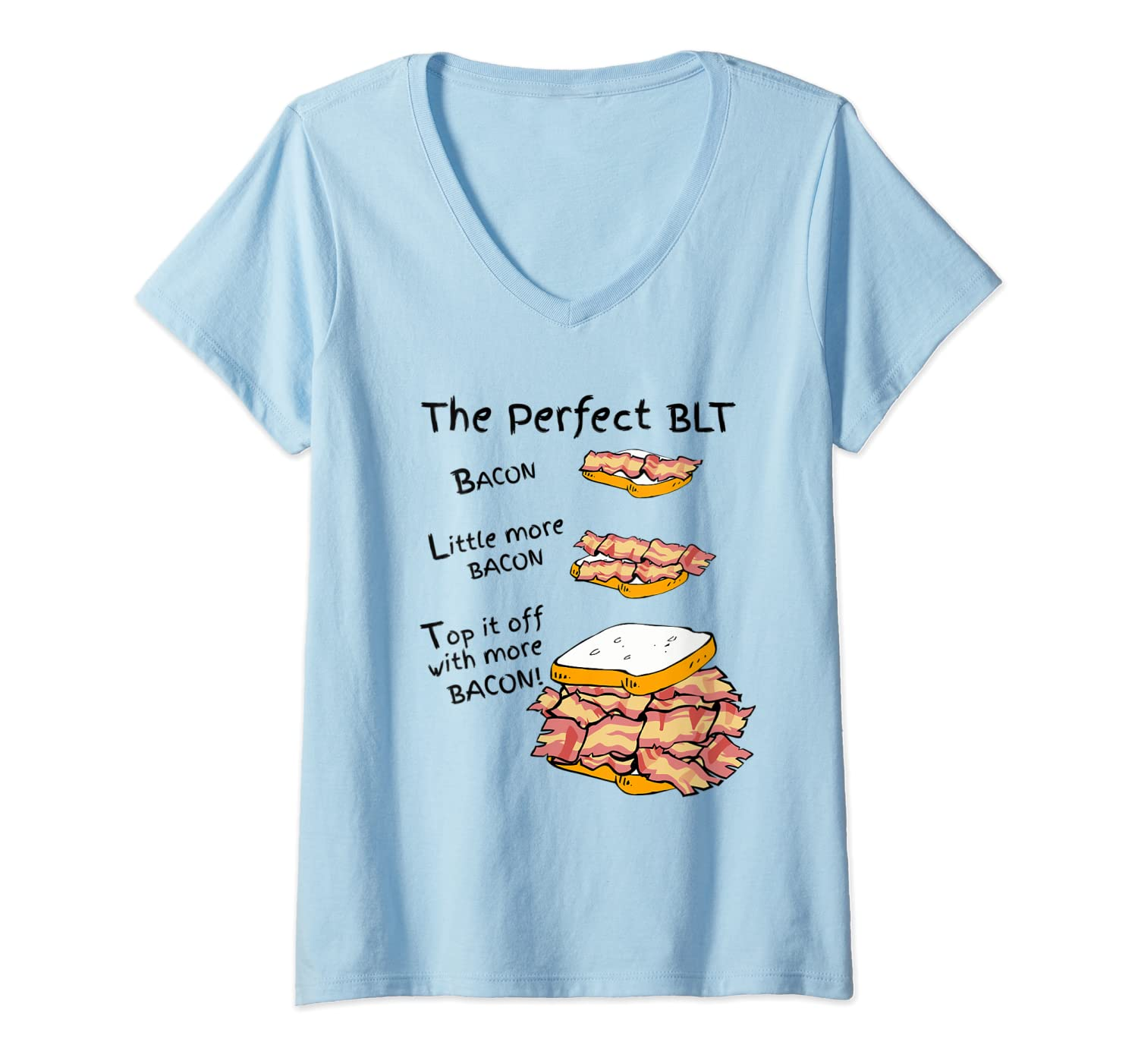 How To Make The Perfect Blt Bacon Sandwich T Shirt