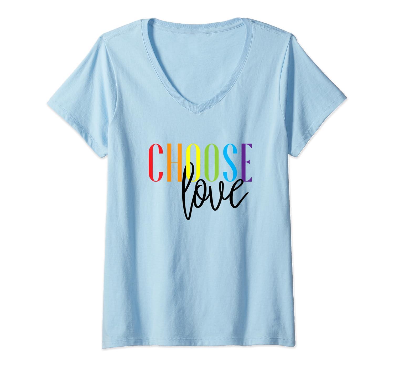 Lgbt Pride Month Parade Choose Love Shirts