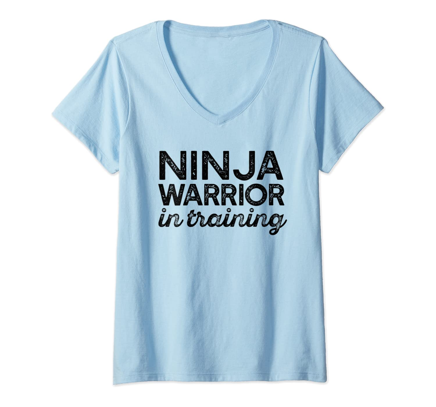 Amazon.com: Womens NINJA WARRIOR IN TRAINING Parkour Meme ...