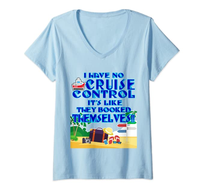 Amazon com: Womens I Have No Cruise Control Funny Travel and