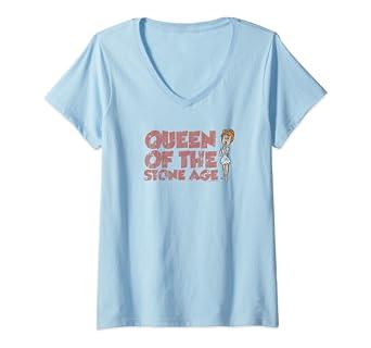 Amazon.com Womens The Flintstones Vintage Queen Wilma V