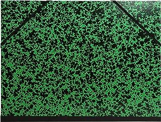 Exacompta - Réf. 541100E - 1 Carton à dessin Annonay avec élastiques 26x33 cm - Pour formats A4 et 24x32 cm - Vert