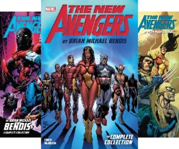 New Avengers by Brian Michael Bendis: The Complete Collection (7 Book Series)