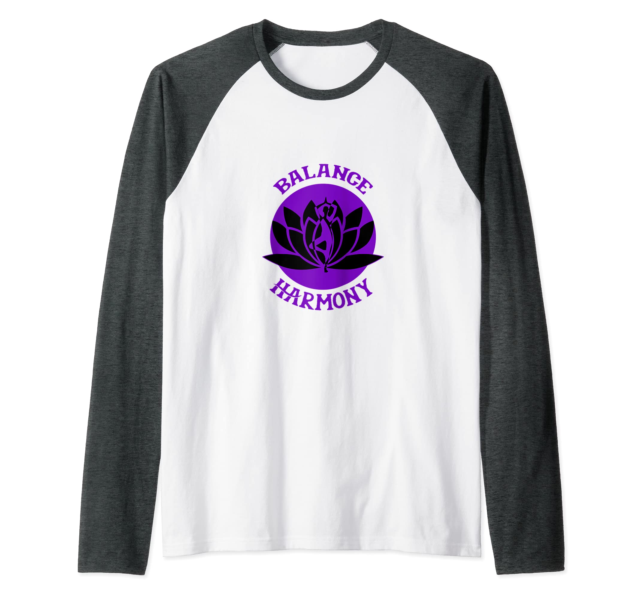 Amazon.com: Inspirational Purple Lotusflower Yoga Balance ...