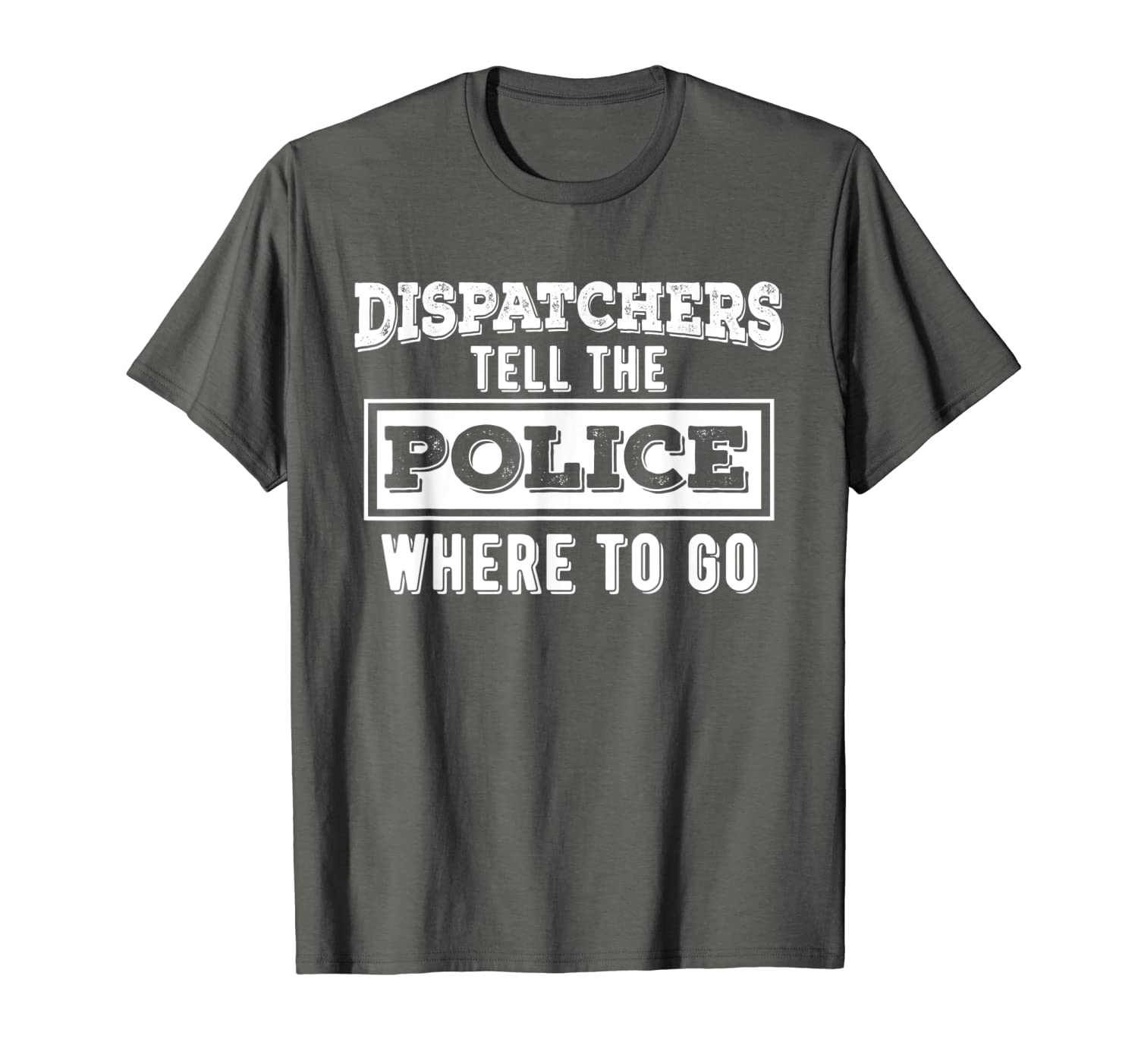 Amazon.com: 911 Dispatcher TShirt Funny Appreciation Gifts ...