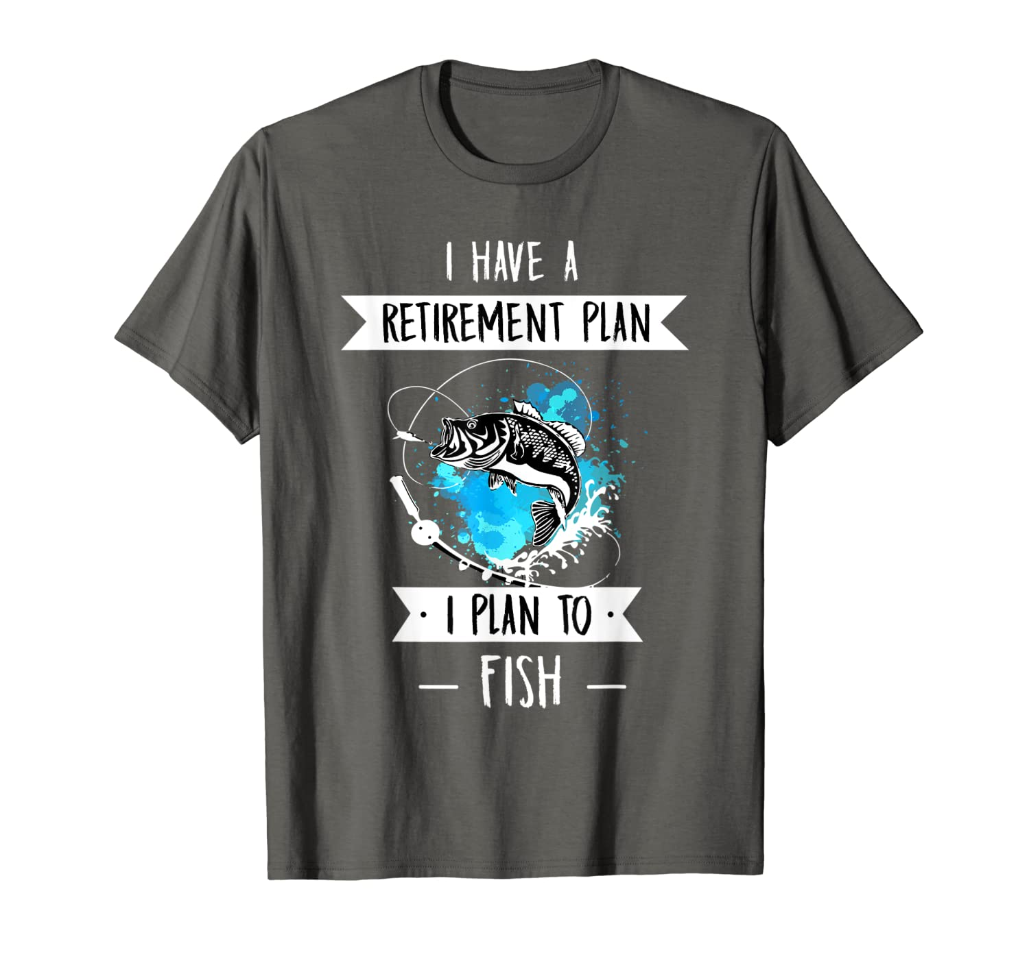 Funny Fishing Gear for Guys Mens Retirement T-Shirt Hoodie Tshirt