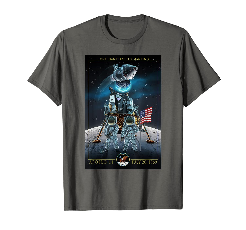 Apollo 11 50th Anniversary Shirt – Moon Landing 1969 2019  T-Shirt