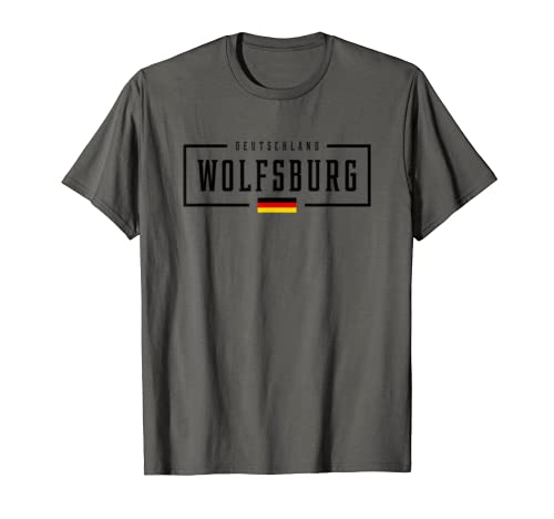 Wolfsburg Deutschland Germany German Flag Shirt