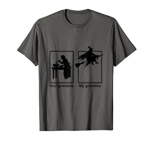 Your Grandma My Grandma Halloween Witch T Shirt