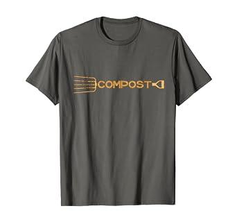 Amazon Com Compost T Shirt Simple Garden Tool Design Clothing