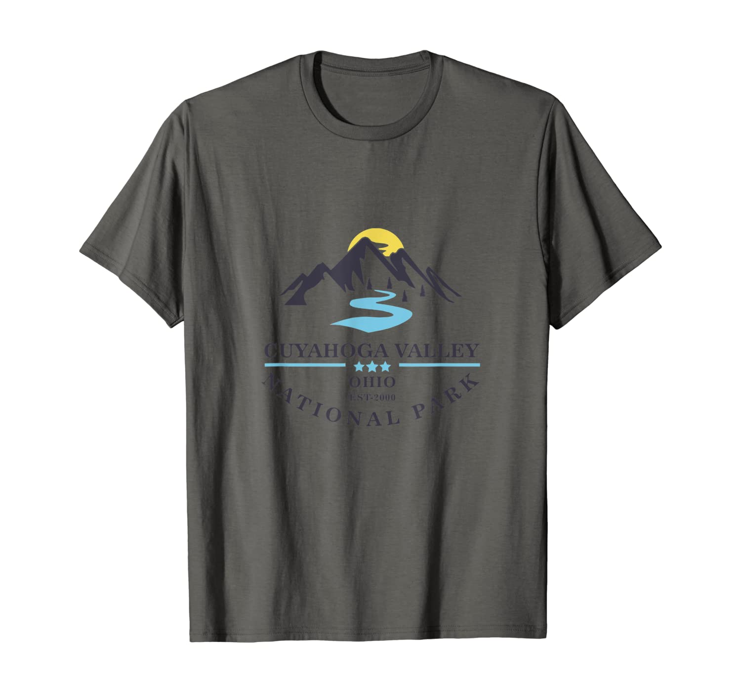 Sunset over Mountains Cuyahoga Valley National Park T-Shirt