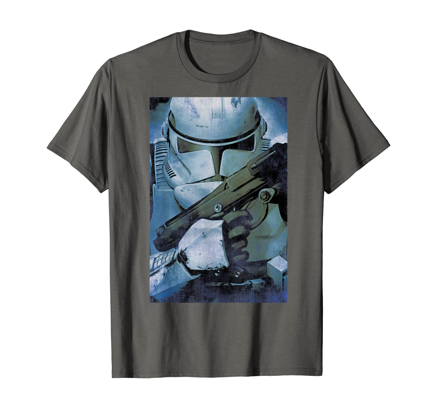 Amazon Com Star Wars Revenge Of The Sith Clone Trooper Poster T Shirt Clothing