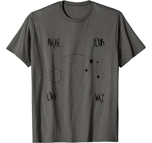 Make Your Own Way Zodiac T Shirt
