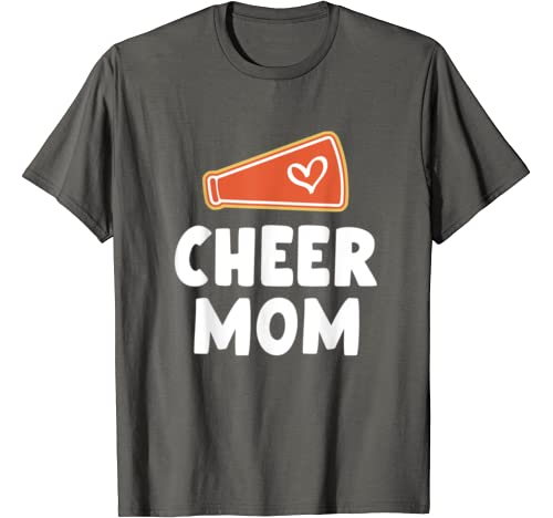 Cheer Mom Shirts For Women Cheerleader Mom Gifts Mother T Shirt