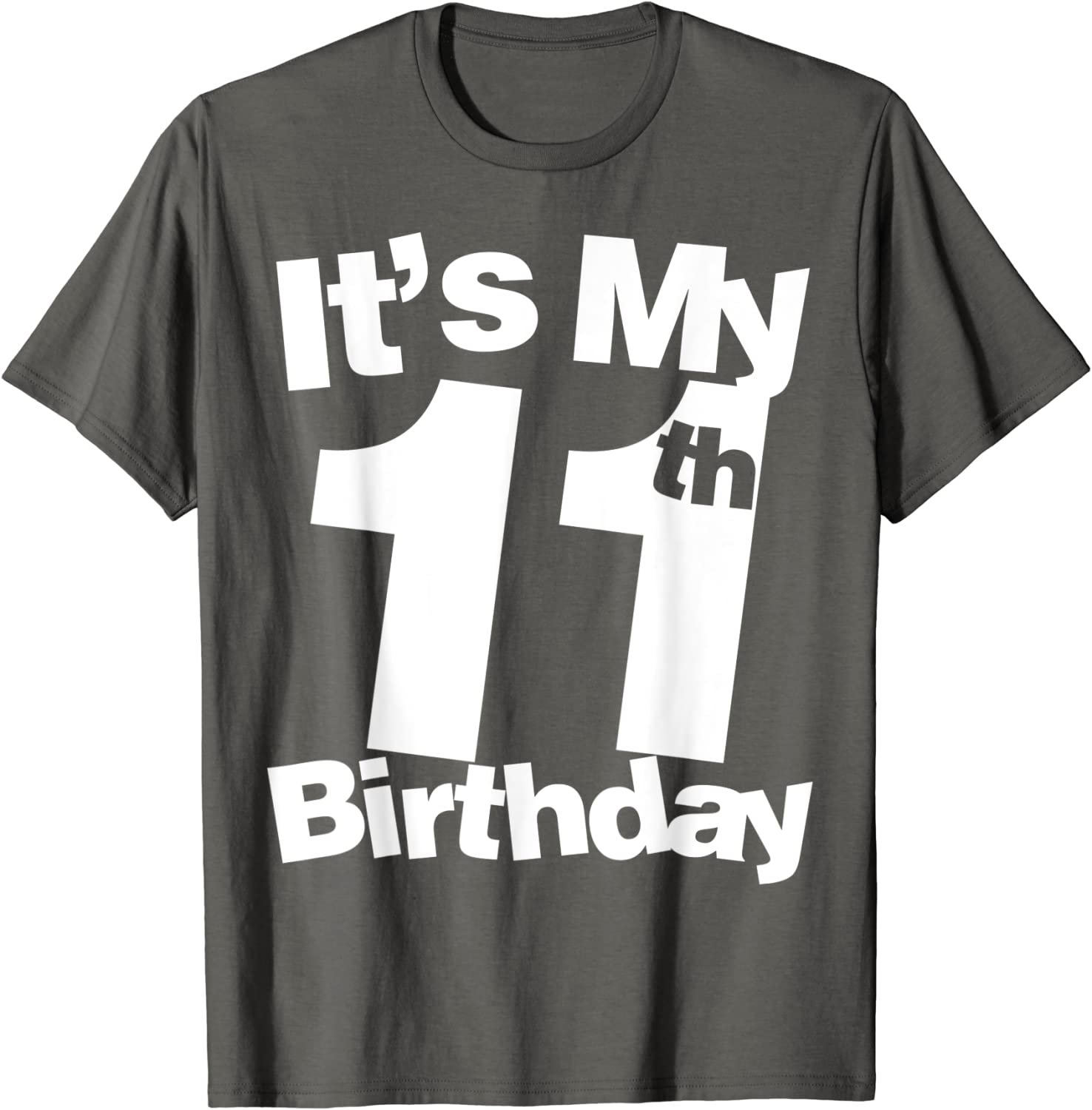 Funny 11th Birthday Kids Shirt Recently Upgraded To Version 11.0 Youth T-Shirt