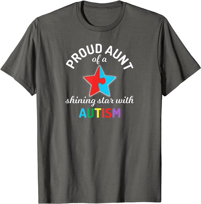 Auntie Life Autism Shirt Auntie Bandana Autism Shirt Auntie Autism Awareness Shirt Autism Unisex T-Shirt