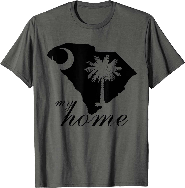 South Carolina My Home T-Shirt