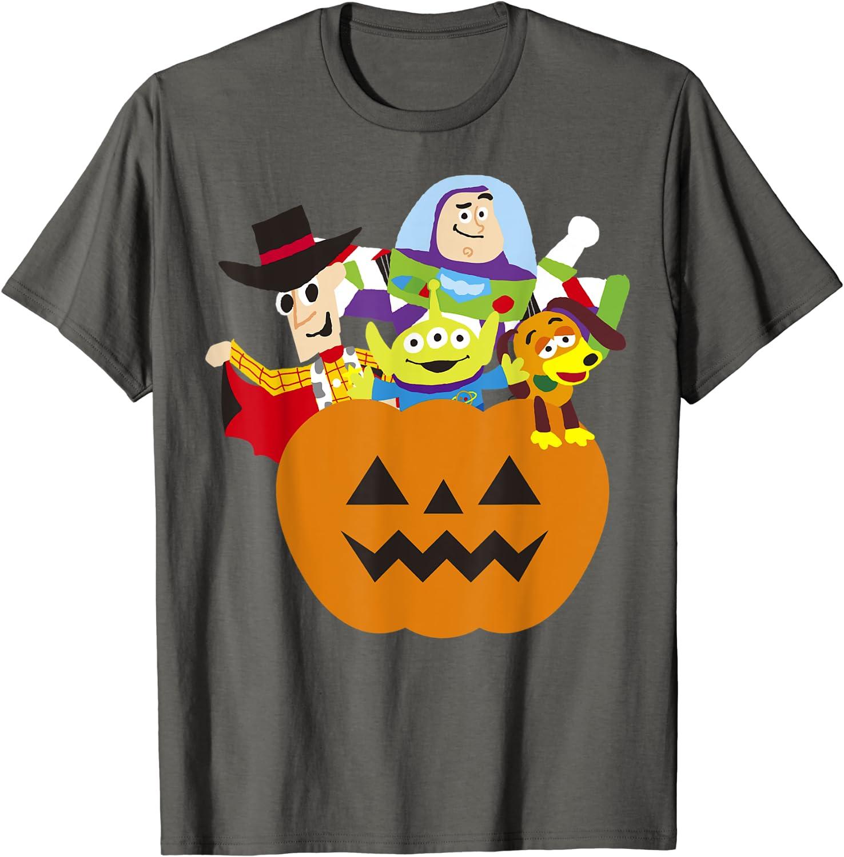 Disney Pixar Toy Story Halloween Pumpkin Graphic T-Shirt