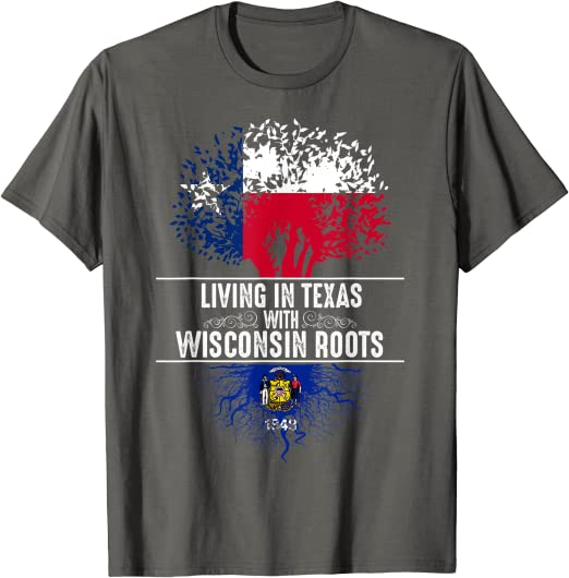 Wisconsin Shirt US State Flag   Flag Shirt  Ancestry Gifts  DNA Gifts  Home Sweet Home Shirt