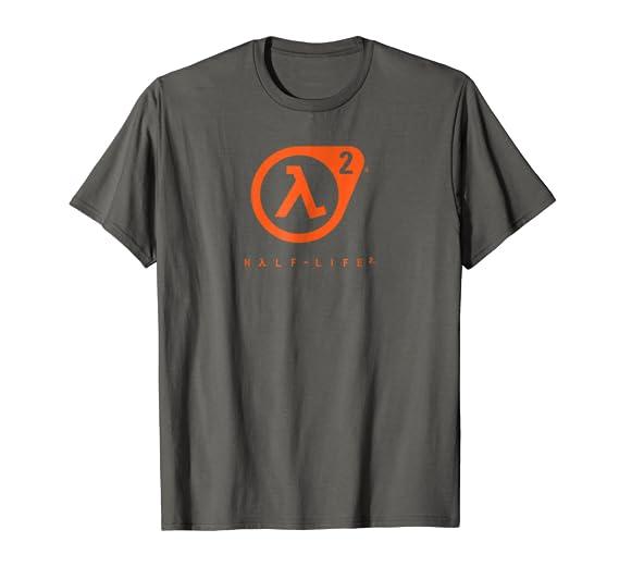 e95bcccf Amazon.com: Half Life 2 Lambda Logo t-shirt - HLF006: Clothing