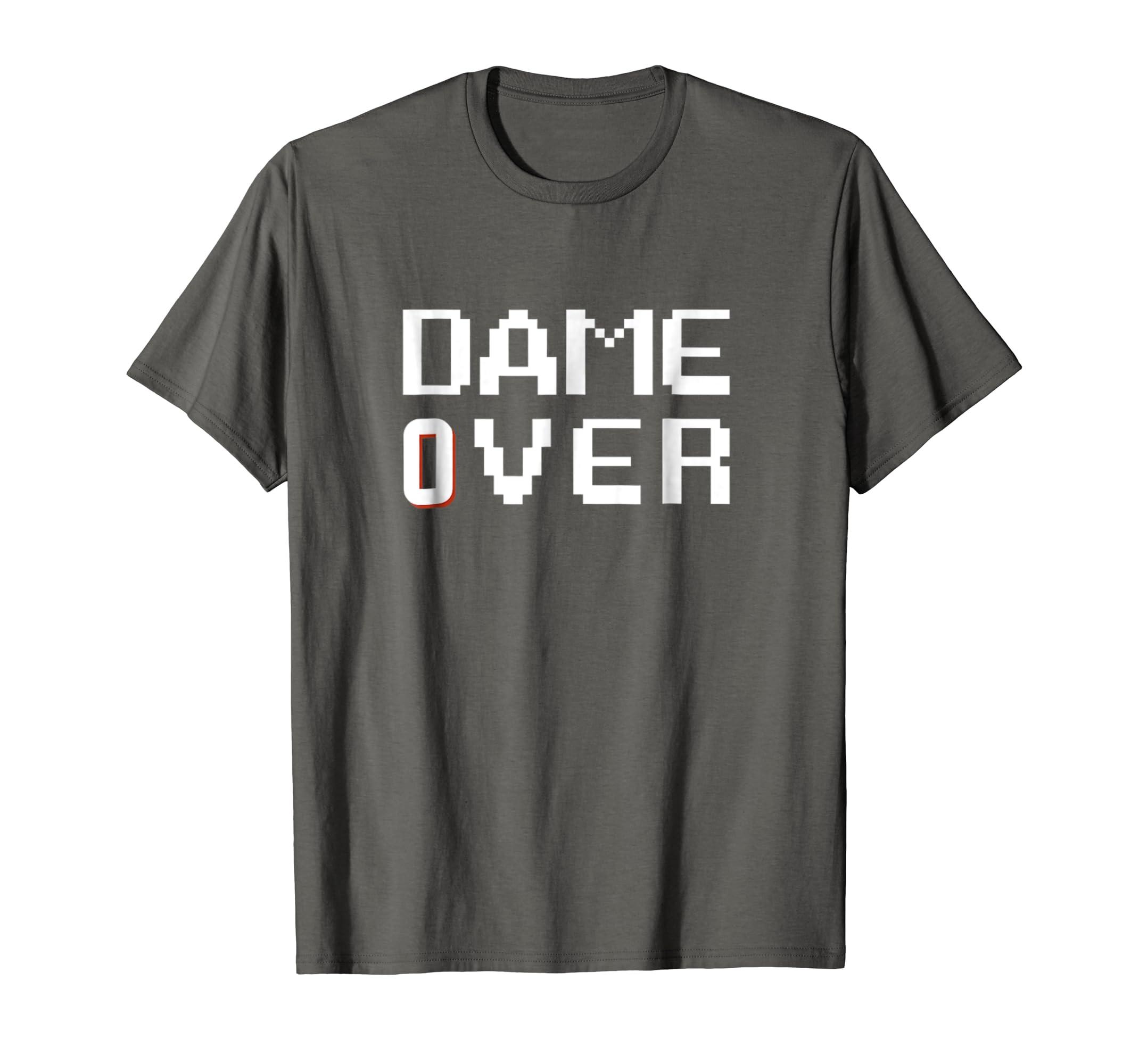 hot sales ea280 ef214 Amazon.com: Dame Over - Lillard basketball T-shirt: Clothing