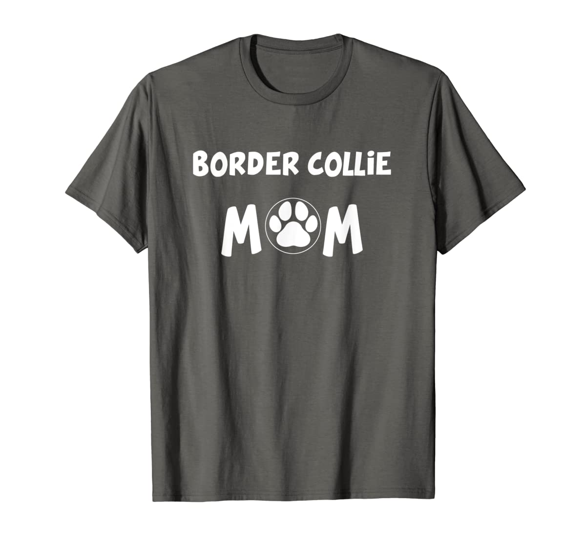 Perfect Dog Mother Gift | Border Collie Mom T-Shirt-Men's T-Shirt-Dark Heather