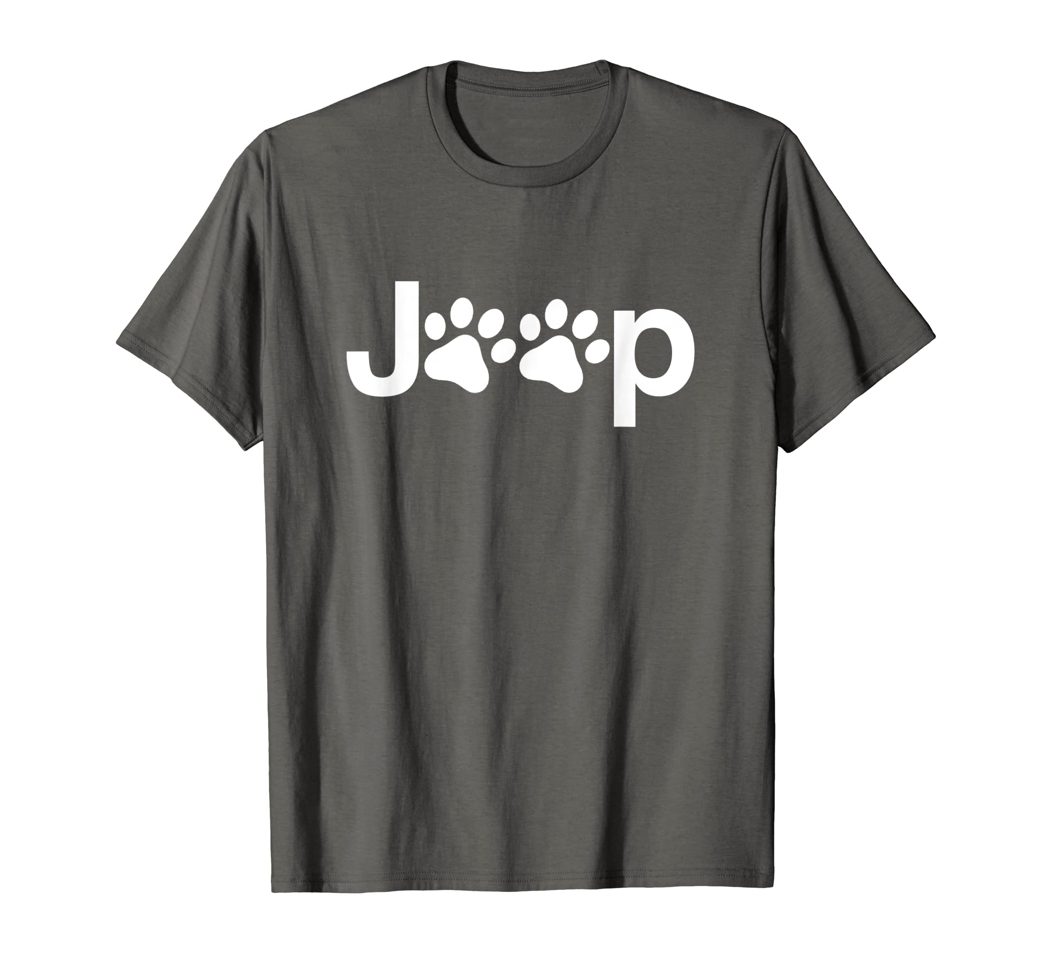 Funny Jeep Paw Prints Dogs & Jeeps Owner Men Women Gift T-Shirt-Loveshirt