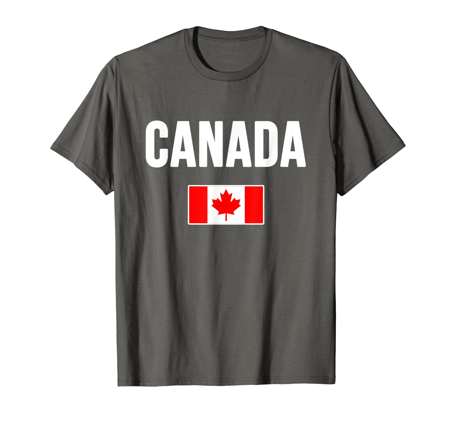 fc86b83ec Amazon.com: Canada T-shirt Canadian Flag Love Gift Souvenir Merchandise:  Clothing