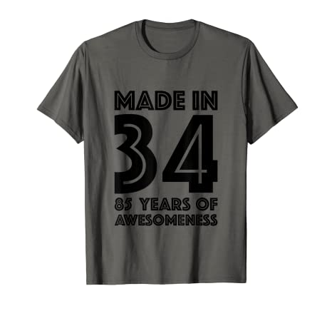 Image Unavailable Not Available For Color 85th Birthday Shirt Men Dad Age 85 Year Old Grandpa Gifts
