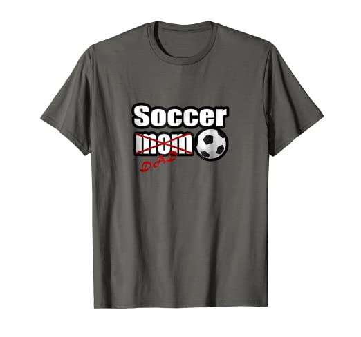 0d9b4653 Image Unavailable. Image not available for. Color: Soccer Dad T-shirt ...