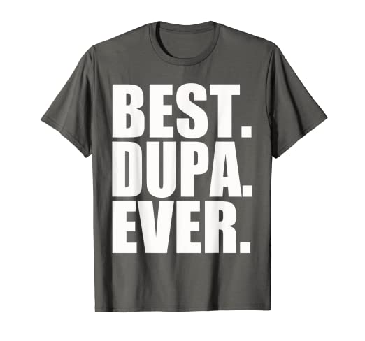 a2a42c58 Image Unavailable. Image not available for. Color: Polish T-Shirt Best Dupa  Ever Poland Polska Shirt Gift