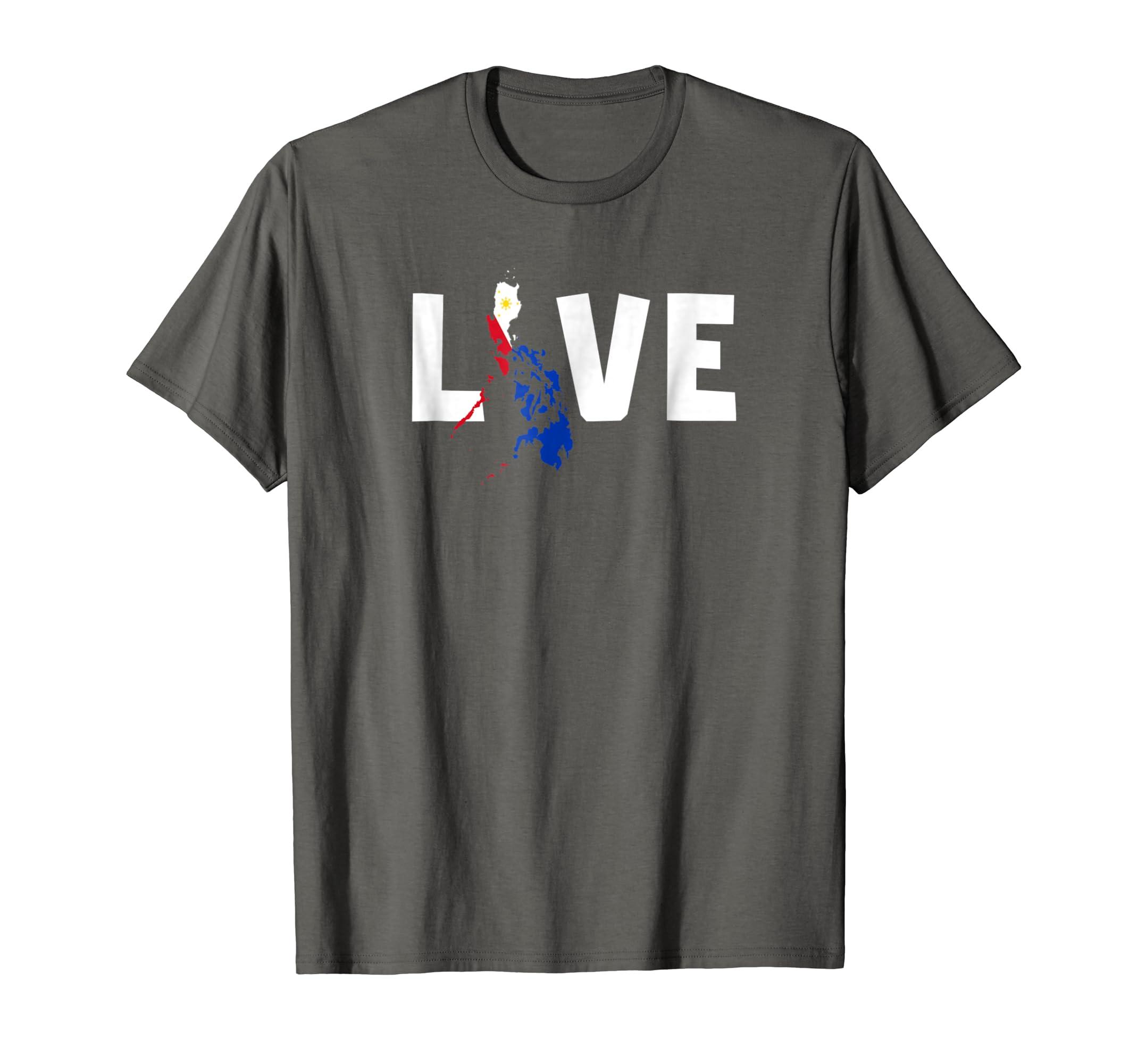 c9e6794c3efb1 Amazon.com  International Adoption Shirt Philippines Map Flag Love  Clothing