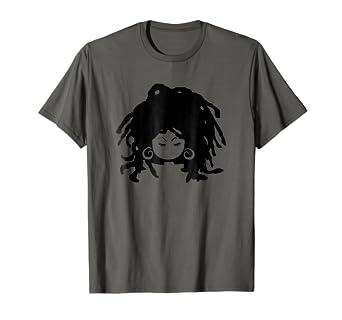 Amazon Com Natural Hair T Shirt For Black Women Dreadlock Beauty