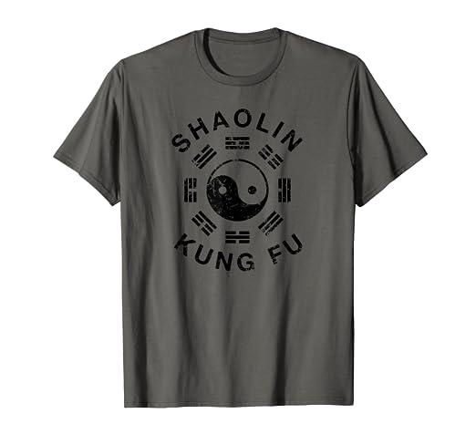 Amazon com: Shaolin KUNG FU Martial Arts Uniform Top T Shirt