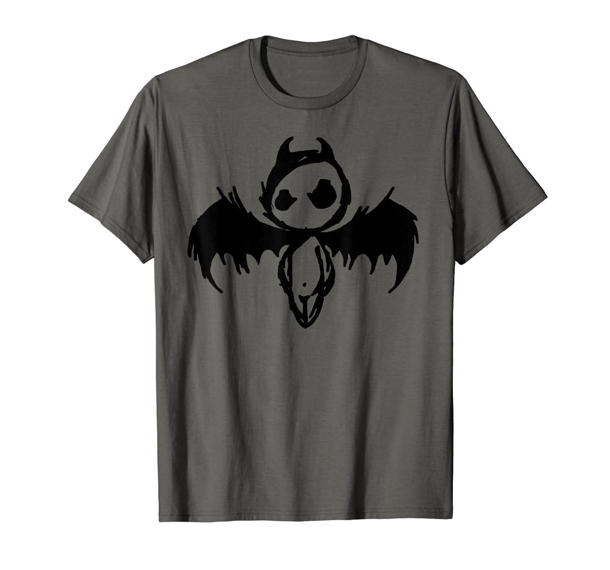 Cute Demon Vintage Couple Matching Halloween Party Costume  T-Shirt-Men's T-Shirt-Dark Heather