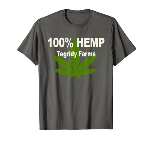 8a28c0b8 Image Unavailable. Image not available for. Color: 100% Hemp Tegridy Farms  T Shirt ...