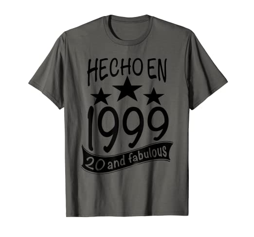 Amazon.com: Hecho en 1999 I 20 And Fabulous I Para Fiesta de ...