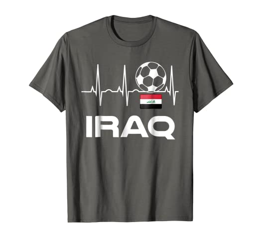 Image Unavailable. Image not available for. Color  Iraq Soccer Jersey ... b98bf9860