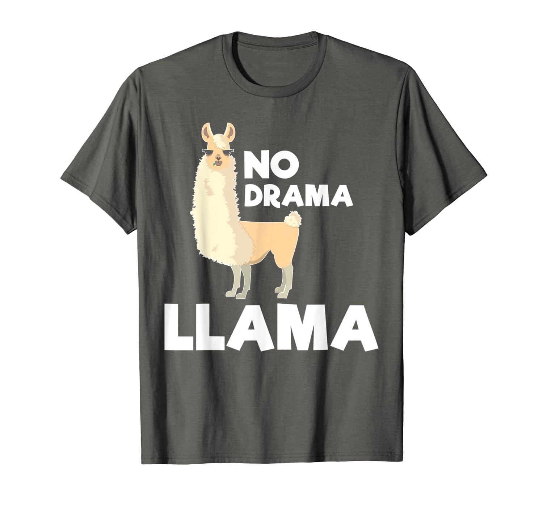 91ab71c3a49 Amazon.com: No Drama Llama - Funny T-shirt: Clothing