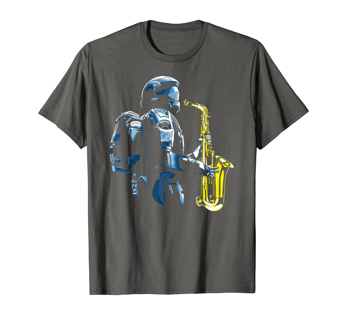 Halo ODST Jazz T-Shirt-Men's T-Shirt-Dark Heather
