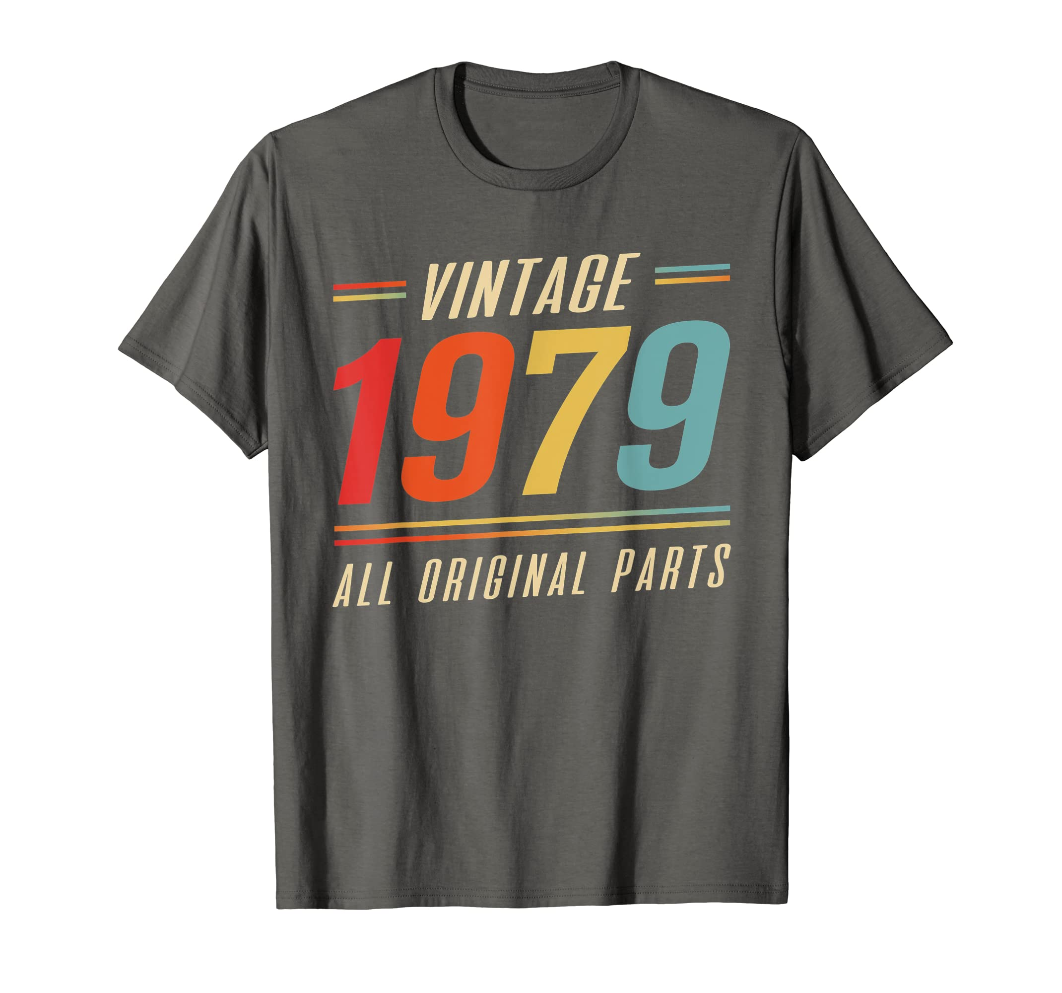 Vintage 1979 T-Shirt – 40th Years Old Made in 1979 Birthday-Teehay