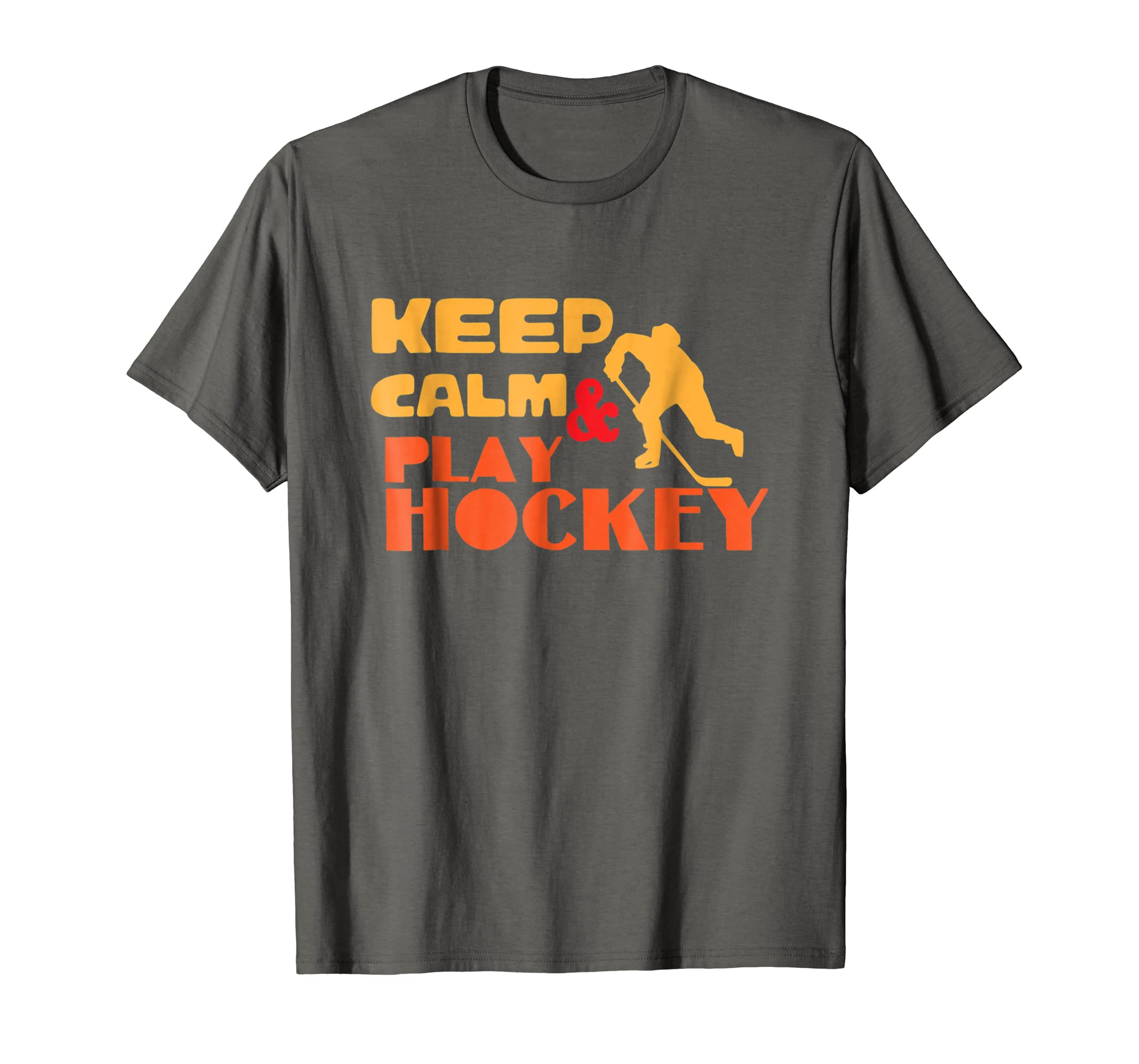 Amazon.com  Funny Hockey Shirts for Men Boys Ice Hockey T-Shirts Gifts   Clothing 14be9aa64d82