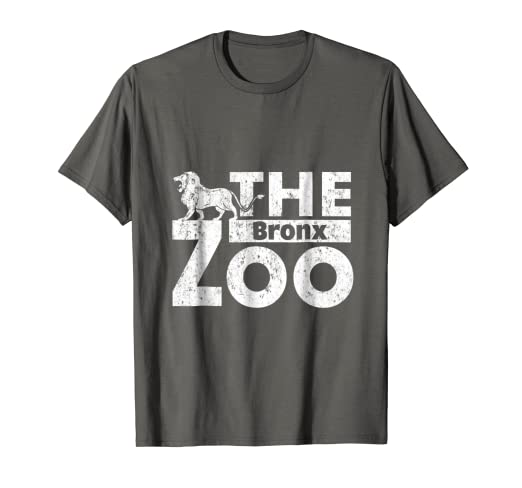 2b8f17d24420d8 Image Unavailable. Image not available for. Color: Brooklyn Zoo T Shirt  Bronx Zoo Vintage New York Tee