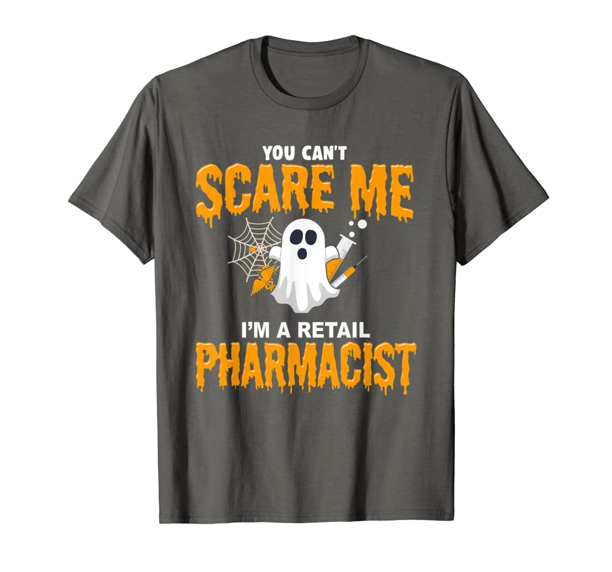 Halloween Costume Shirt I'm A Retail Pharmacist T-Shirt-Men's T-Shirt-Dark Heather