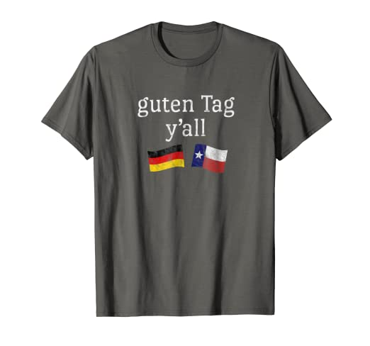 6fbc83f2 Image Unavailable. Image not available for. Color: Guten Tag Y'all Prost German  Texas Oktoberfest T-Shirt