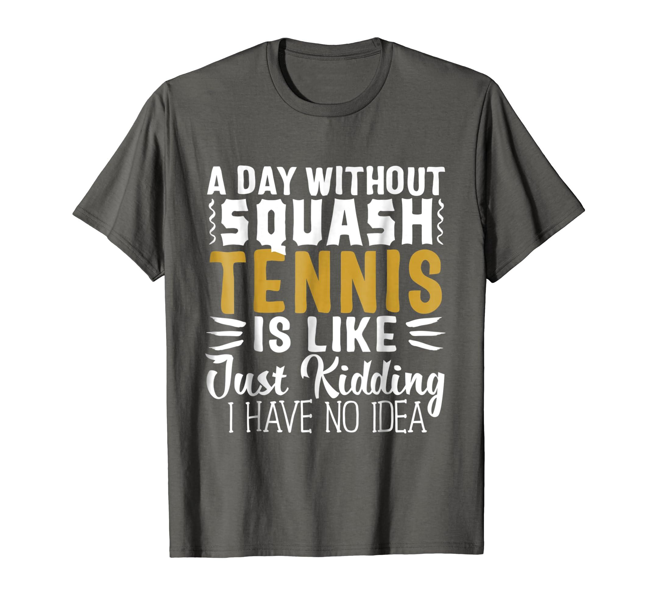 Squash Tennis Shirt Women Squash Tennis T Shirt Men Gift-SFL