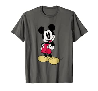 7932e69f Image Unavailable. Image not available for. Color: Disney Classic Mickey  Mouse T-Shirt
